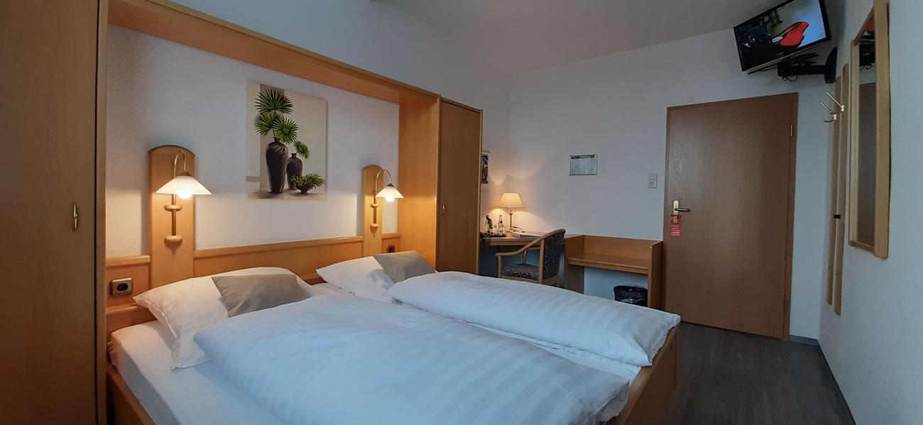 Doppelzimmer Komfort bett
