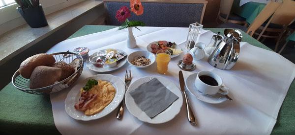 Frühstück, guten Appetit
